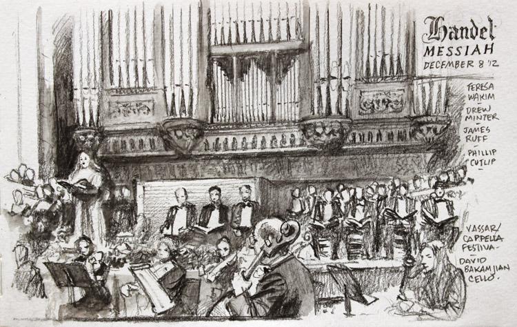 Handel Messiah by James Gurney