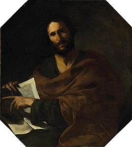 St John the Evangelist by Bernardo Cavallino