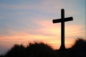 Cross At Sunset 280ox