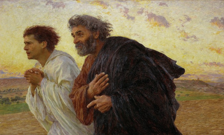 Peter and John Running to the Sepulchre
