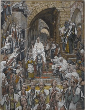 Tissot, The Procession in the Streets of Jerusalem